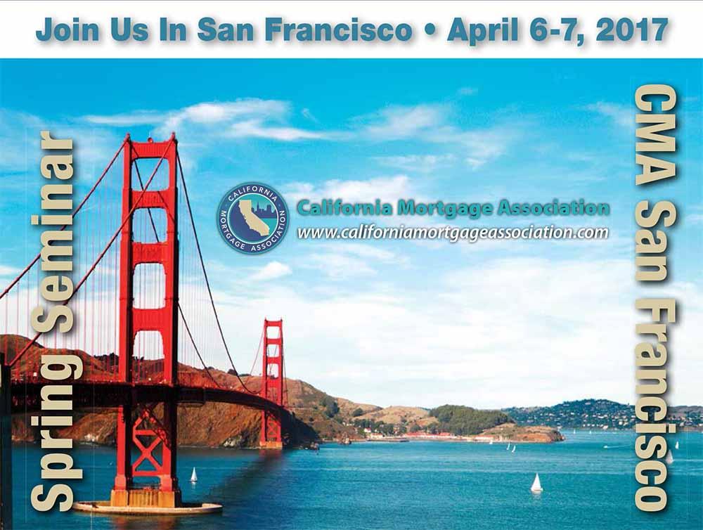 2017 Spring CMA Seminar in San Francisco