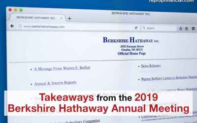 Takeaways from the 2019 Berkshire Hathaway Annual Meeting