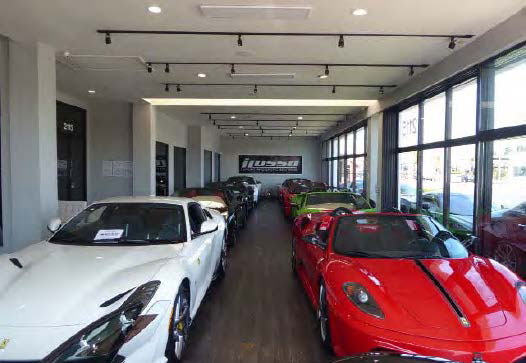 Commercial: Rate and Term Refinance of Exotic Car Dealership, Costa Mesa CA