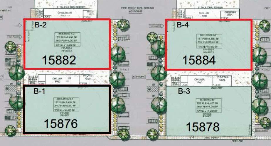 Two loans on light industrial construction in Desert Hot Springs, CA